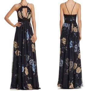 NWOT Jill Jill Stuart Floral Printed Gown